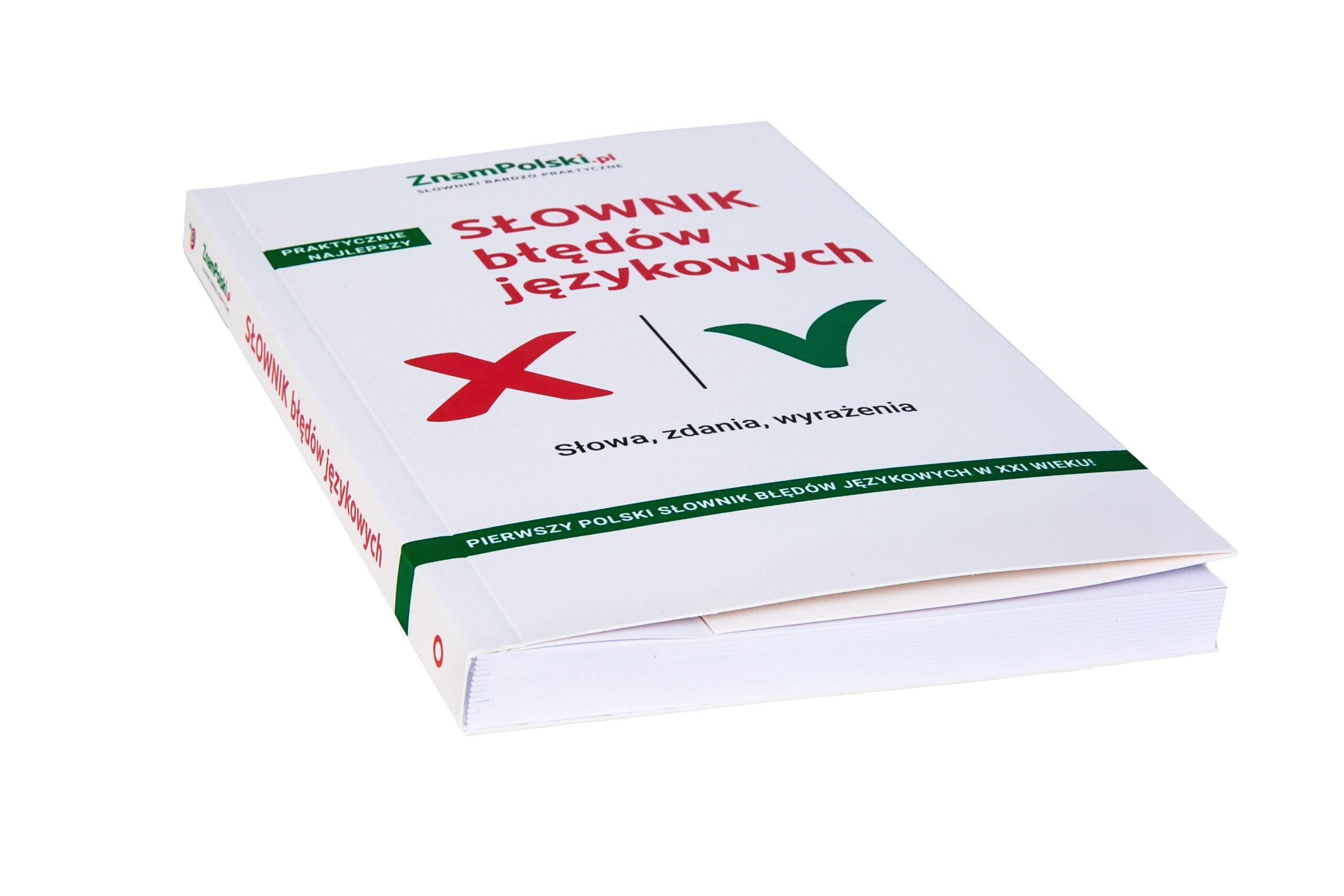 słownik błędów językowych cena